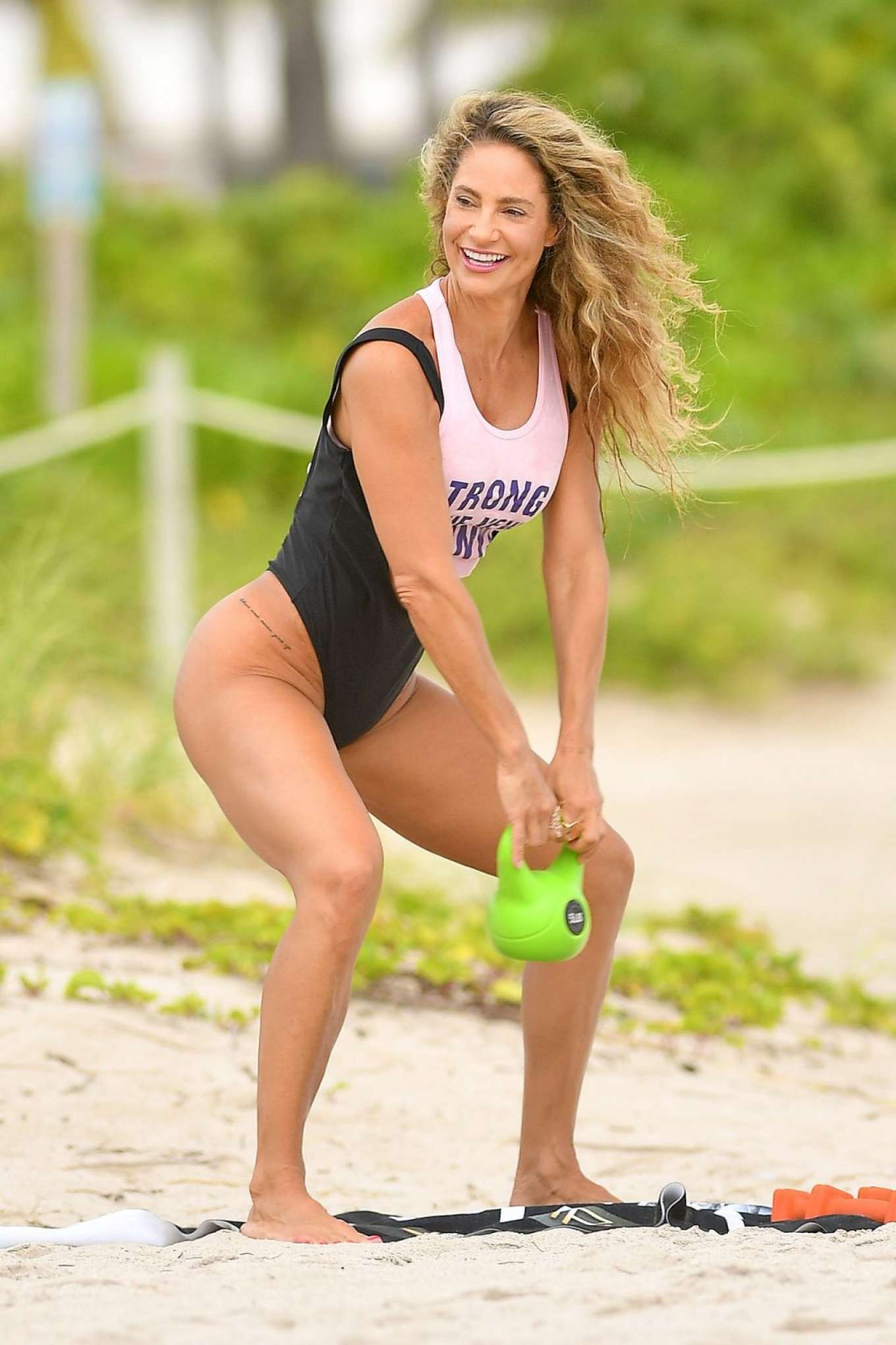 Jennifer Nicole Lee 2019 : Jennifer Nicole Lee – Workout on Miami Beach-12