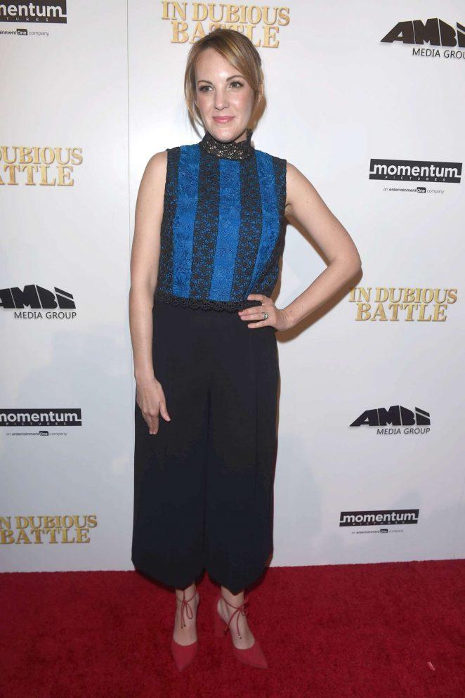 Jennifer Zaborowski: In Dubious Battle LA Premiere -08