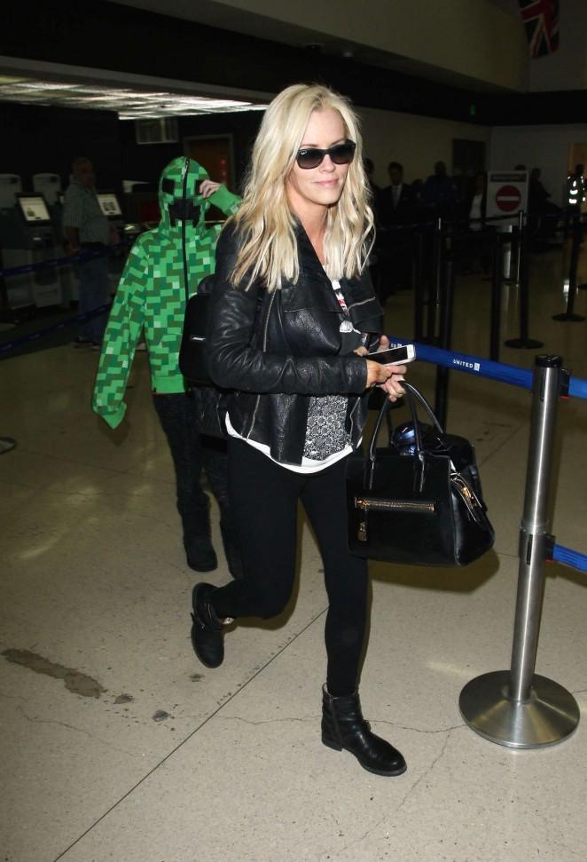 Jenny McCarthy at LAX Airport -12