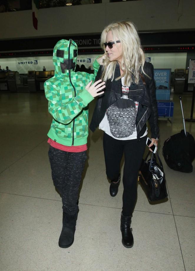 Jenny McCarthy at LAX Airport -14