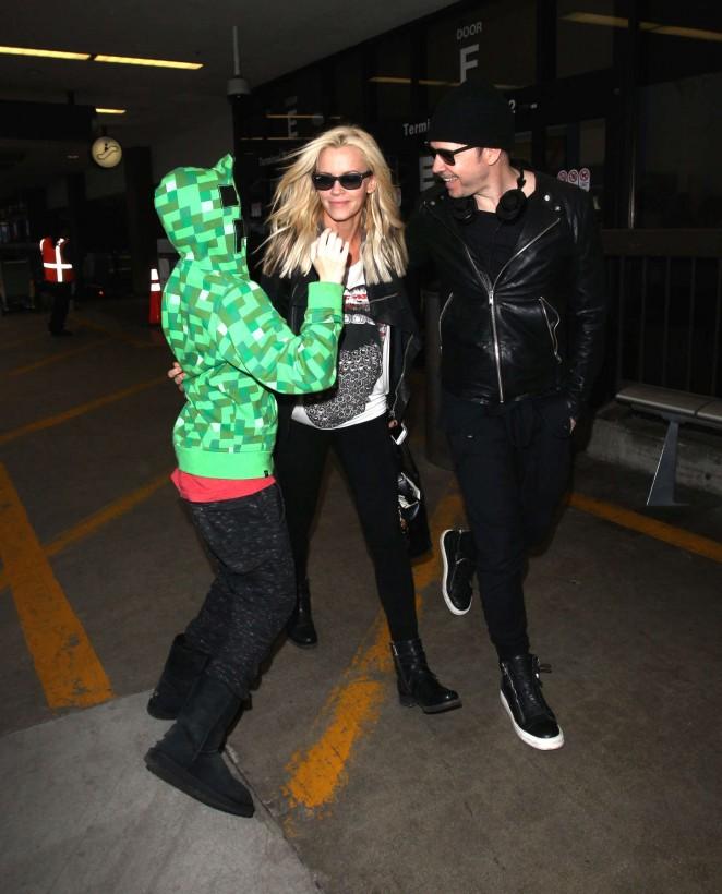 Jenny McCarthy at LAX Airport -18