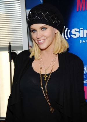 Jenny McCarthy at SiriusXM Studios in NYC