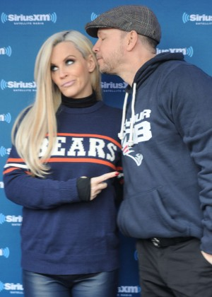 Jenny McCarthy - Host SiriusXM at Chicago NFL Drafts in Chicago