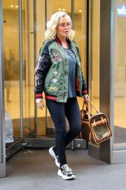 Jenny McCarthy - Leaving work in New York City
