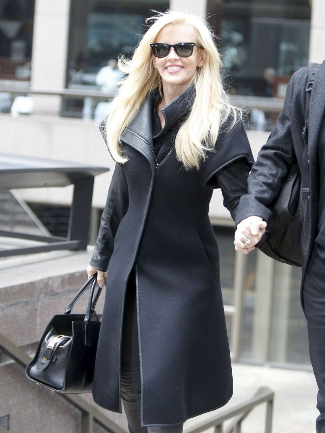 Jenny McCarthy - Out and about in NYC