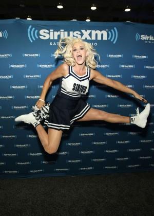 Jenny McCarthy - SiriusXM at Super Bowl 50 Radio Row in San Francisco