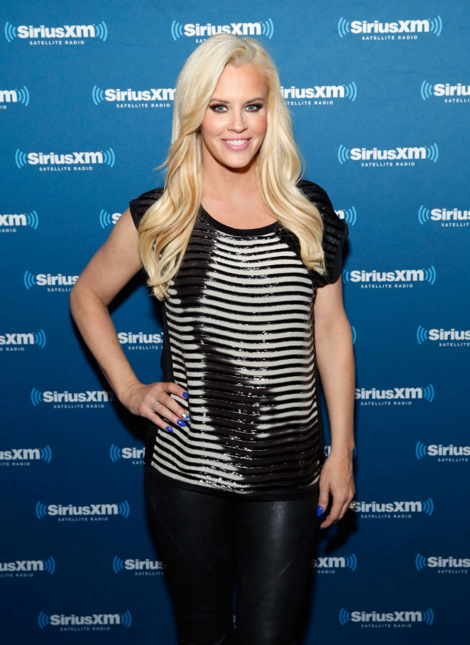 Jenny McCarthy - SiriusXM at Super Bowl XLIX Radio Row in Phoenix