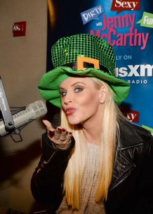 Jenny McCarthy - SiriusXM Studios in NYC