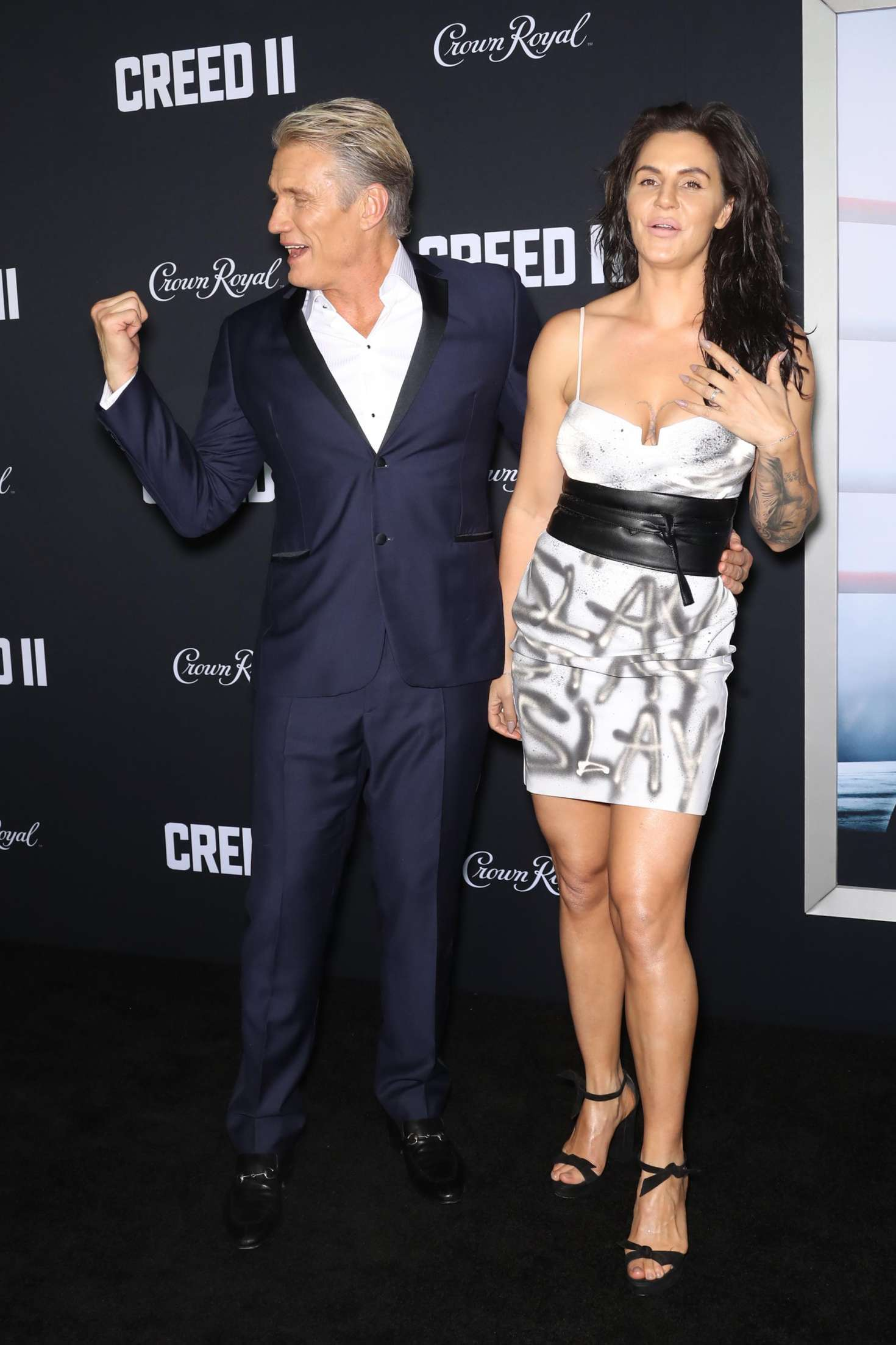 Jenny Sandersson 2018 : Jenny Sandersson: Creed 2 Premiere -01