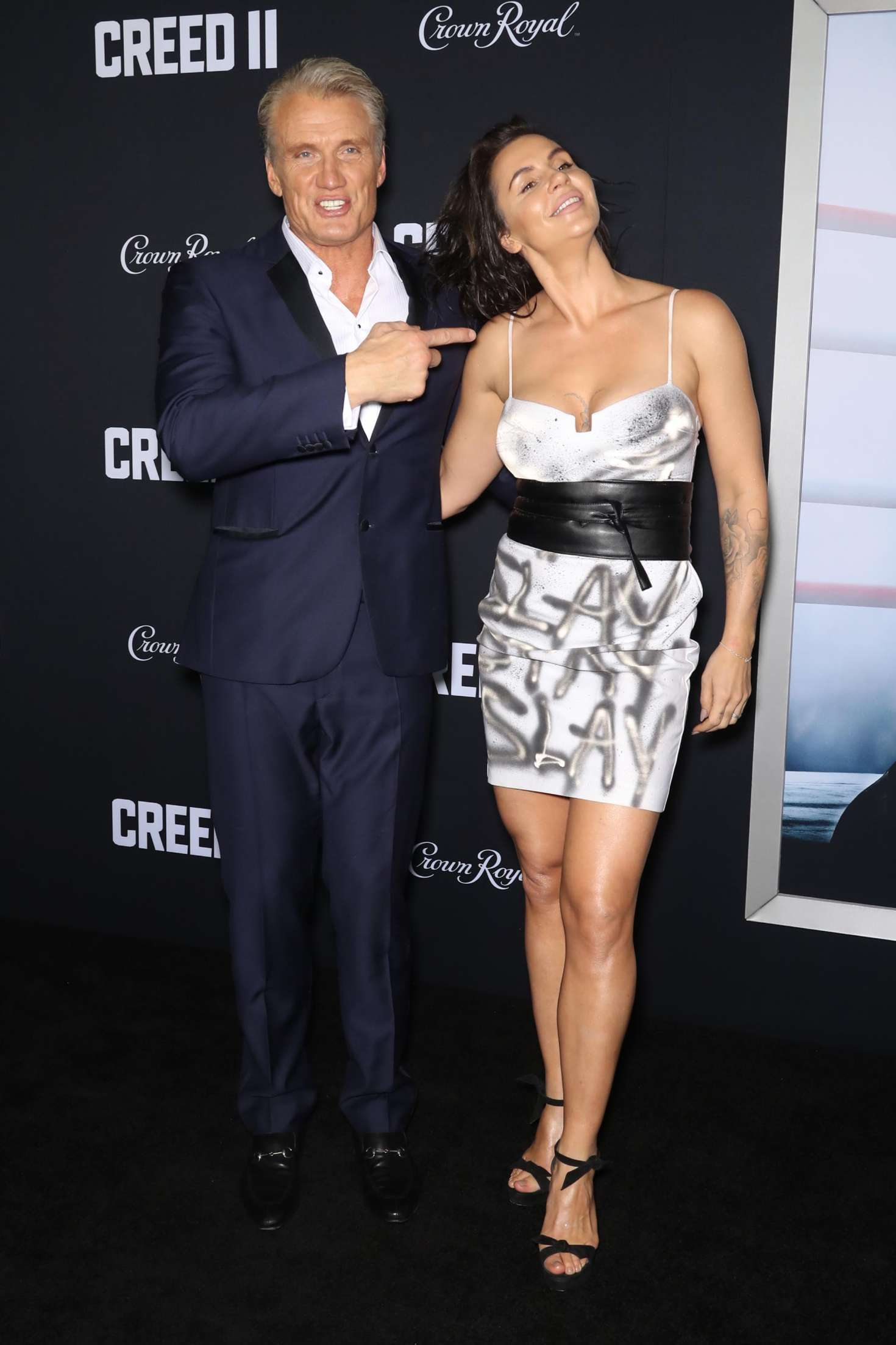 Jenny Sandersson 2018 : Jenny Sandersson: Creed 2 Premiere -04