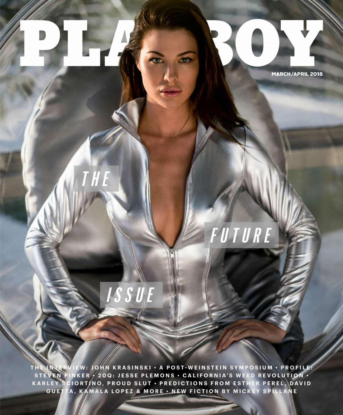 Jenny Watwood: Playboy US 2018 -03
