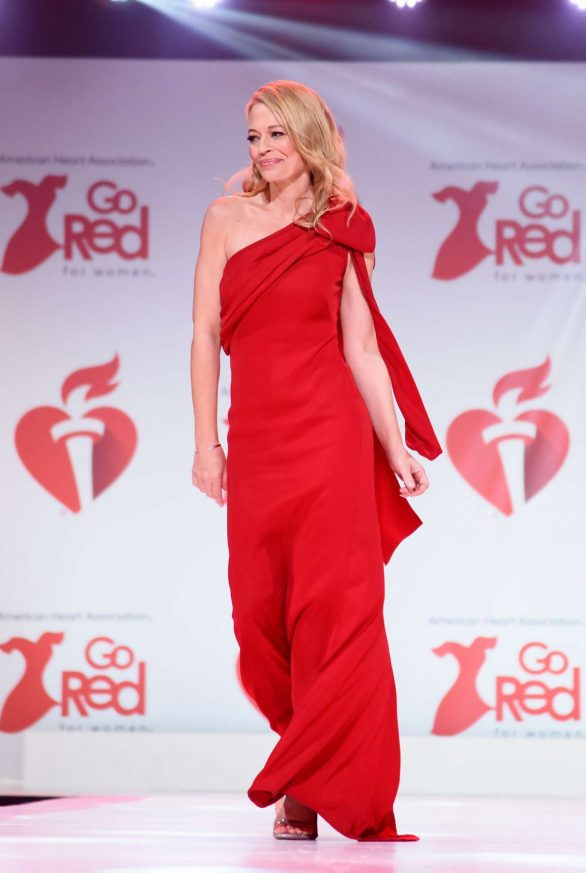 Jeri Ryan - The American Red Heart Association's Go Red For Women Red Dress Collection in NY