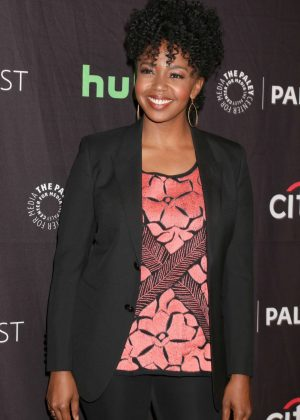 Jerrika Hinton - The Paley Center for Media's 34th Annual PaleyFest LA in Hollywood