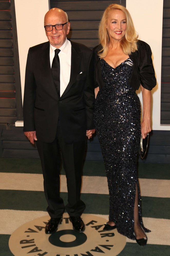 Jerry Hall - 2016 Vanity Fair Oscar Party in Beverly Hills