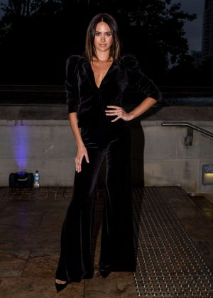 Jesinta Campbell - Arrives at Autumn Winter 2017 David Jones Fashion Launch in Sydney