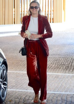 Jesinta Franklin out in Double Bay