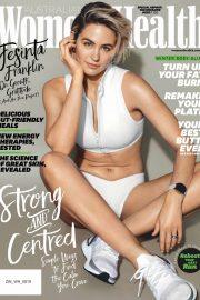 Jesinta Franklin - Women's Health Australia Magazine (August 2019)