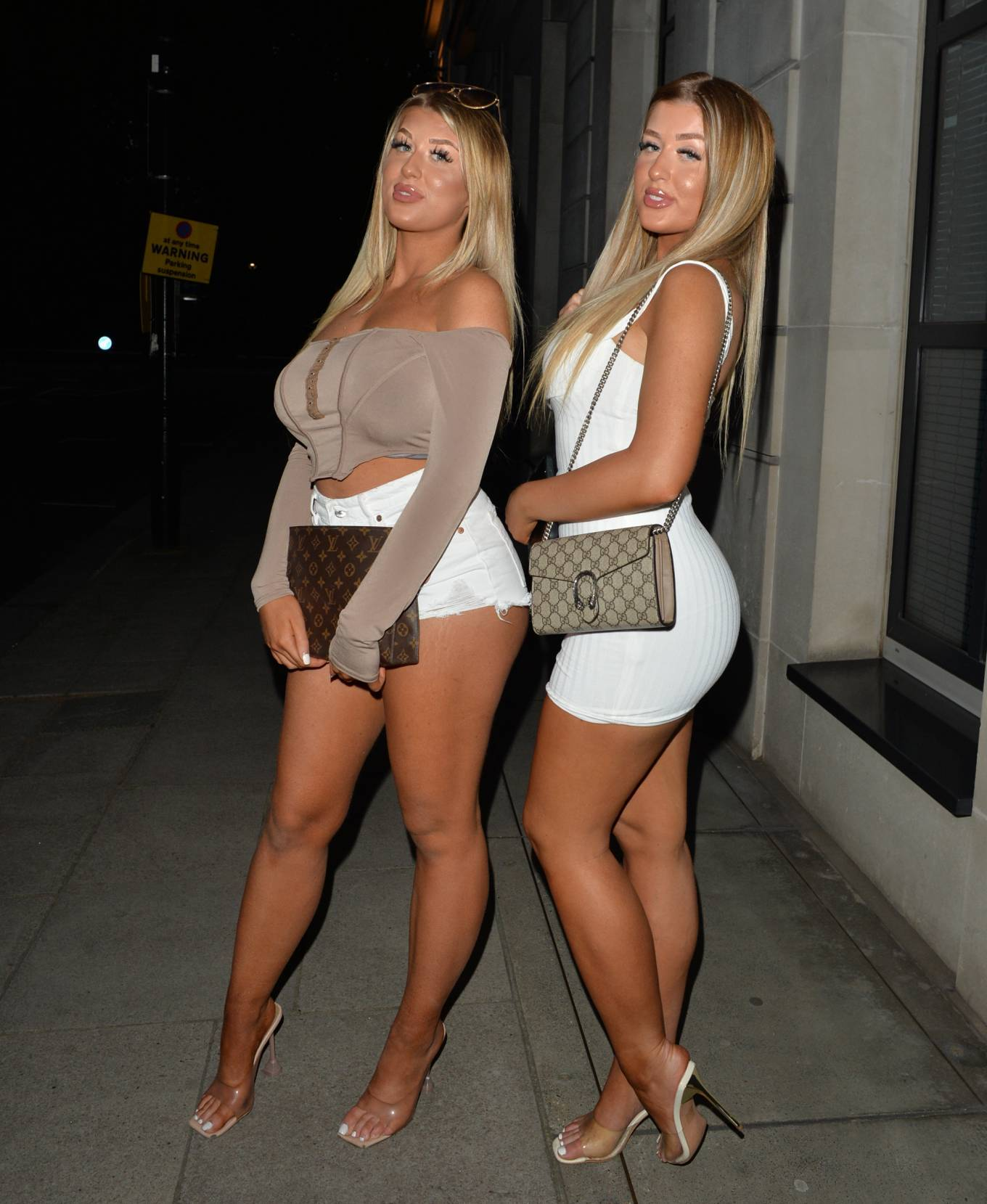Jess Gale 2021 : Jess Gale – With Eve Gale seen heading to Bagatelle in Mayfair in London-01