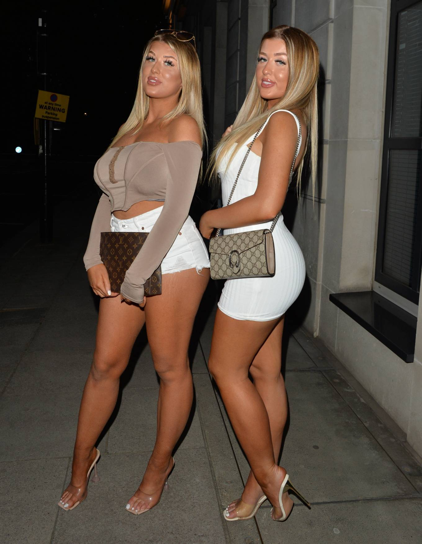 Jess Gale 2021 : Jess Gale – With Eve Gale seen heading to Bagatelle in Mayfair in London-12