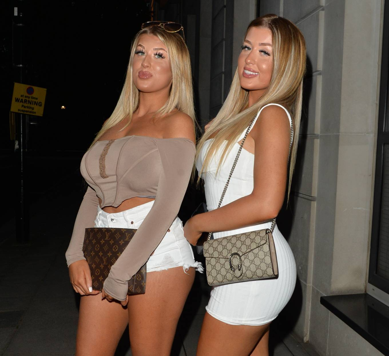 Jess Gale 2021 : Jess Gale – With Eve Gale seen heading to Bagatelle in Mayfair in London-26