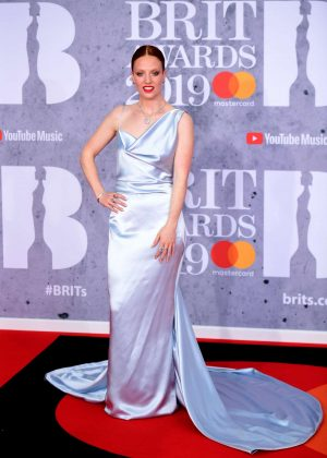 Jess Glynne - 2019 BRIT Awards in London