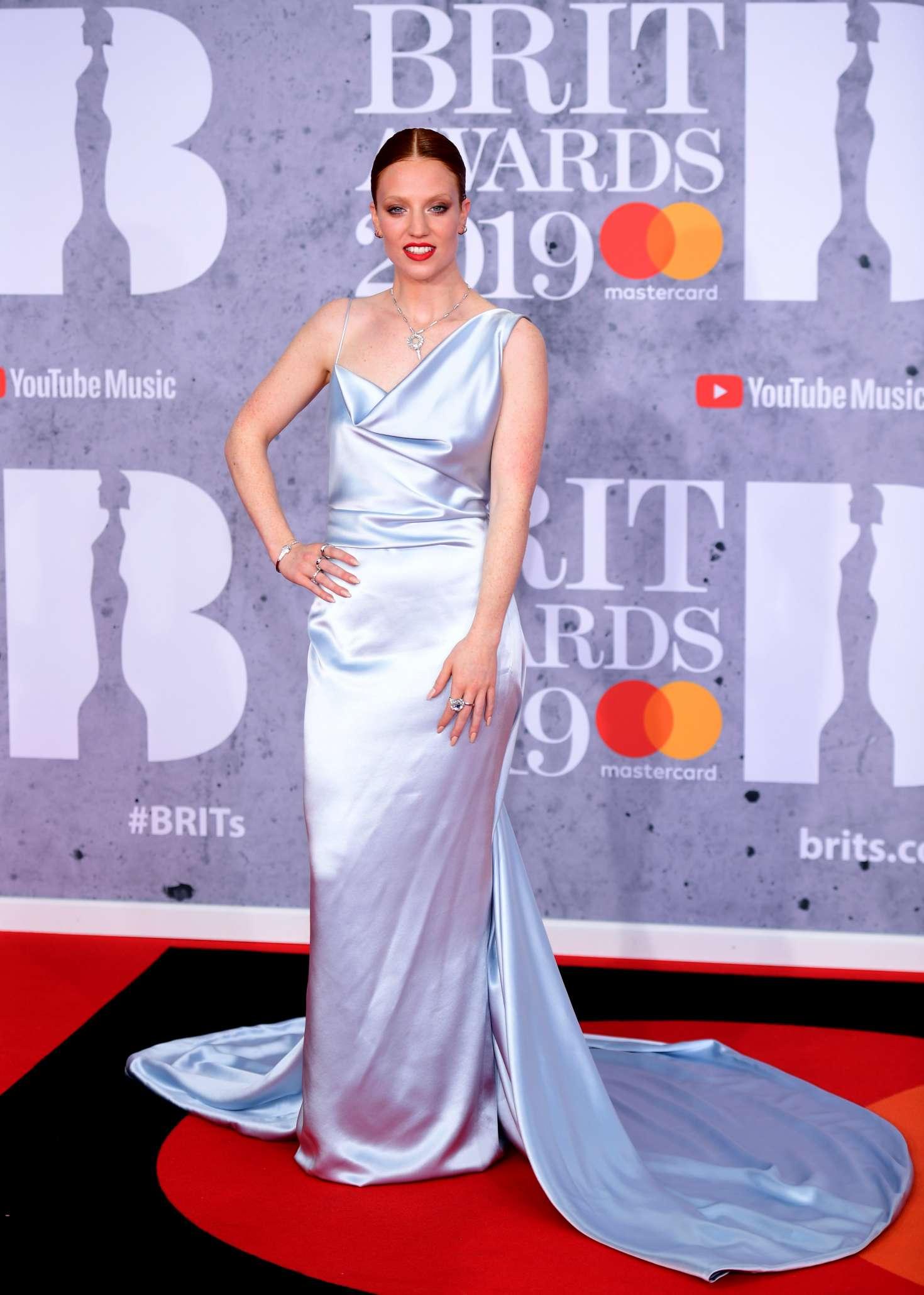 Jess Glynne - 2019 BRIT Awards in London