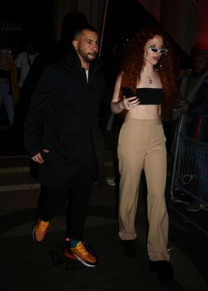 Jess Glynne - Arrives at Warner Music Brit Awards After Party in London