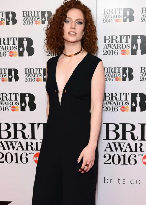 Jess Glynne - Brit Awards 2016 Nominations Launch in London