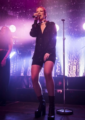 Jess Glynne - Concert at The Roundhouse in London