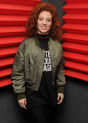 Jess Glynne Portrait at Radio Station Y-100 in Florida