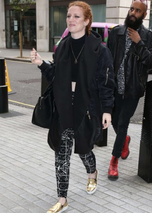 Jess Glynne at BBC Radio One in London