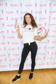 Jess Impiazzi - Celebrity Pink Charity Netbal Match in London