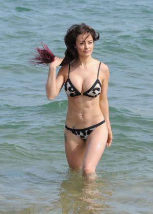 Jess Impiazzi in Bikini in Tenerife