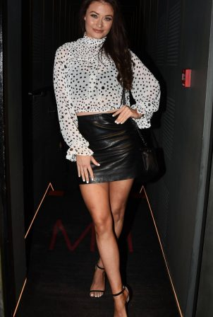 Jess Impiazzi - Night out at MNKY HSE Mayfair