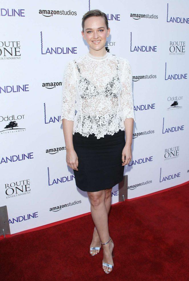 Jess Weixler - 'Landline' Premiere in Hollywood