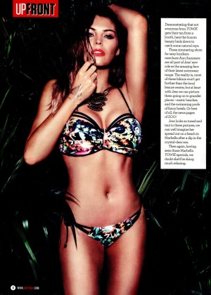 Jess Wright - UPFRONT ZOO Magazine (April 2015)