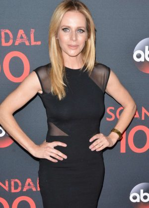 Jessalyn Gilsig - 'Scandal' 100th Episode Celebration in WeHo