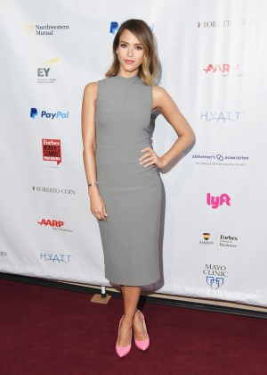 Jessica Alba - 2015 Forbes Women's Summit: Transforming The Rules Of Engagement in NYC