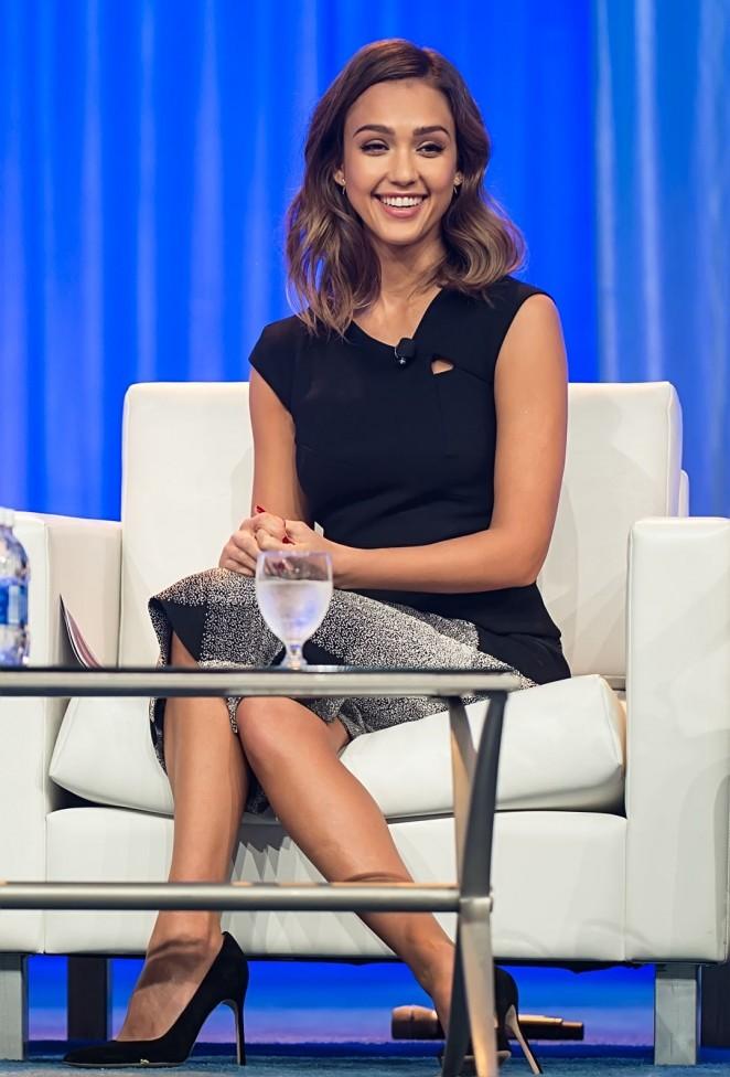 Jessica Alba - 2015 Pennsylvania Conference for Women in Philadelphia