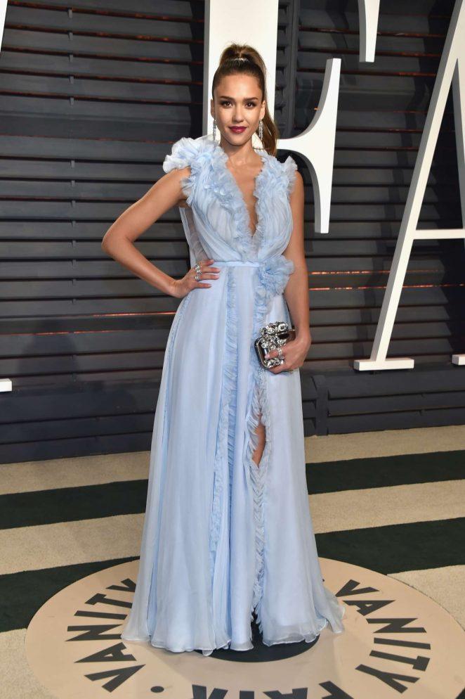 Jessica Alba - 2017 Vanity Fair Oscar Party in Hollywood