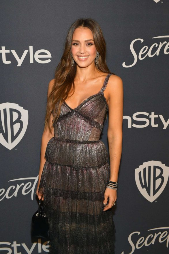 Jessica Alba - 2020 InStyle and Warner Bros Golden Globes Party in Beverly Hills