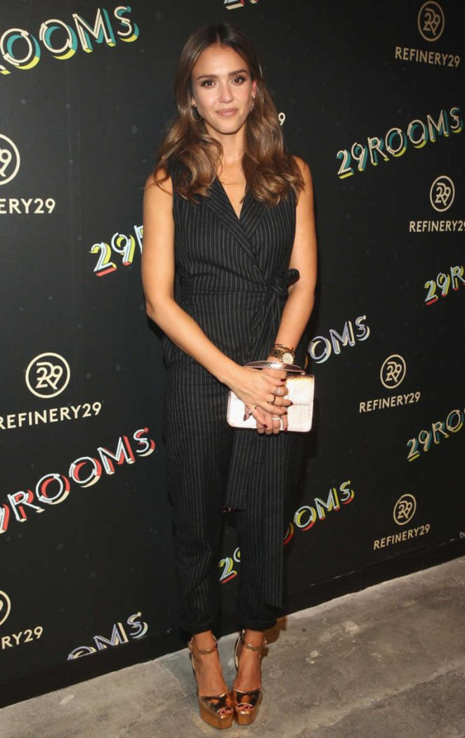 Jessica Alba: 2nd Annual Refinery29 29Rooms: Powered By People -02