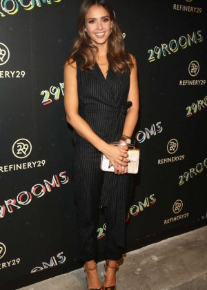 Jessica Alba - 2nd Annual Refinery29 29Rooms: Powered By People in NYC