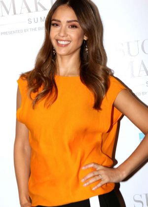 Jessica Alba - American Express Success Makers Summit in New York