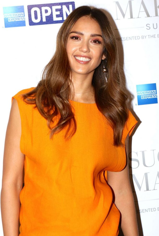 Jessica Alba: American Express Success Makers Summit -13