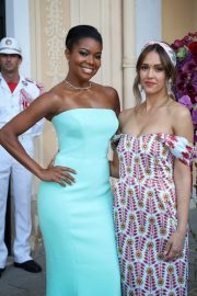 Jessica Alba and Gabrielle Union - Cocktail Party at 2019 Monte Carlo TV Festival