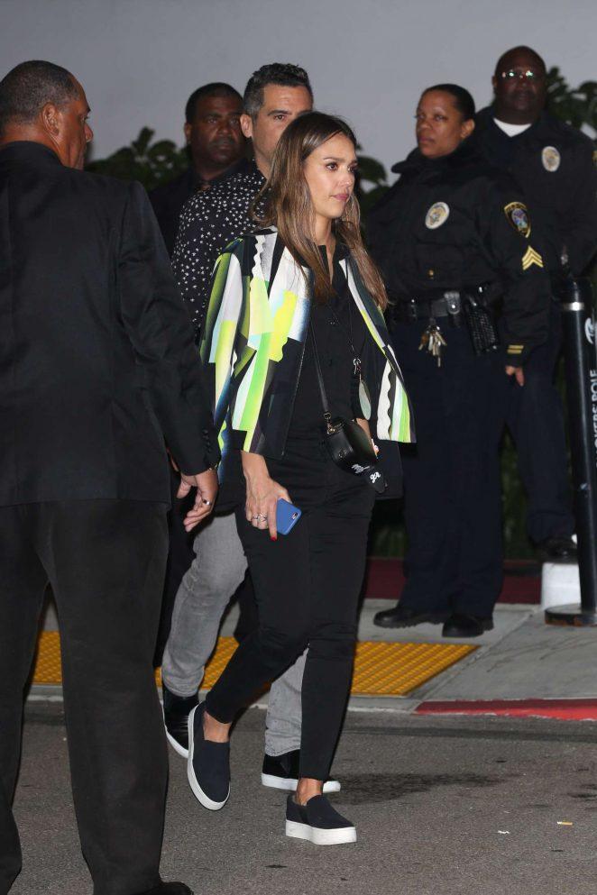 Jessica Alba 2016 : Jessica Alba at Kanye Concert in Inglewood -11