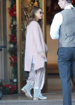 Jessica Alba at the Montage in Beverly Hills