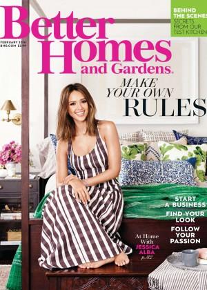 Jessica Alba - Better Homes and Gardens (February 2016)
