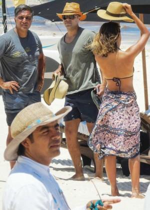 Jessica Alba: Bikini candids in Cancun-18